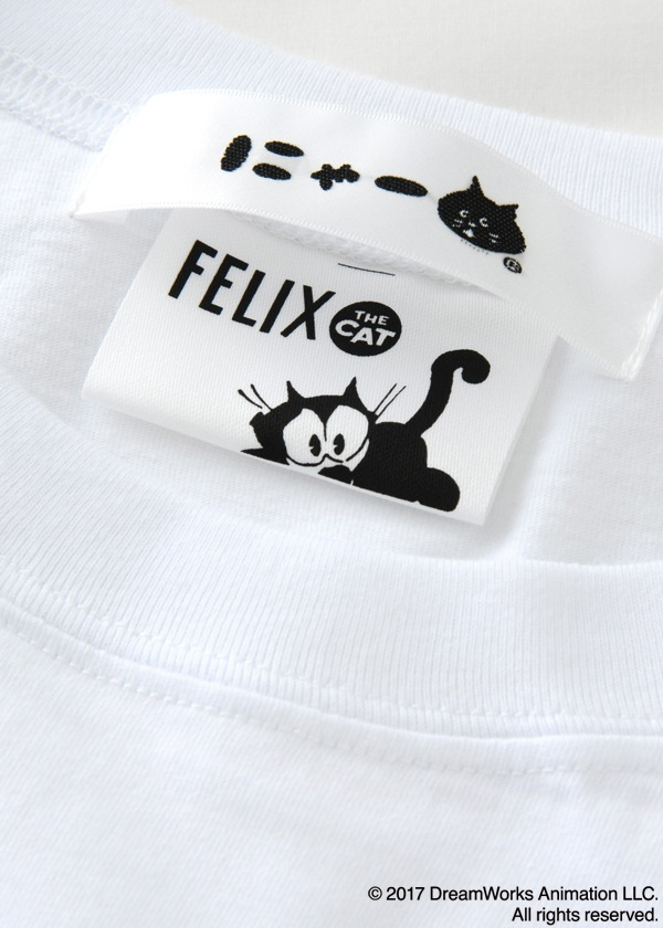 にゃー / にゃー×Felix the Cat T / Tシャツ