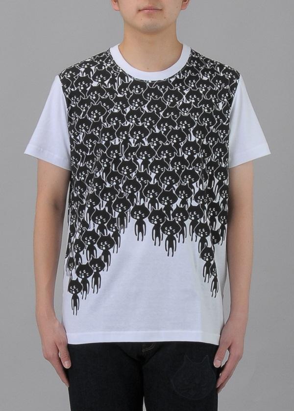 にゃー / S メンズ どろっとにゃー T / Tシャツ