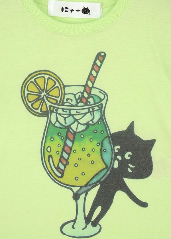 にゃー / キッズ からふるドリンクにゃー T / Tシャツ
