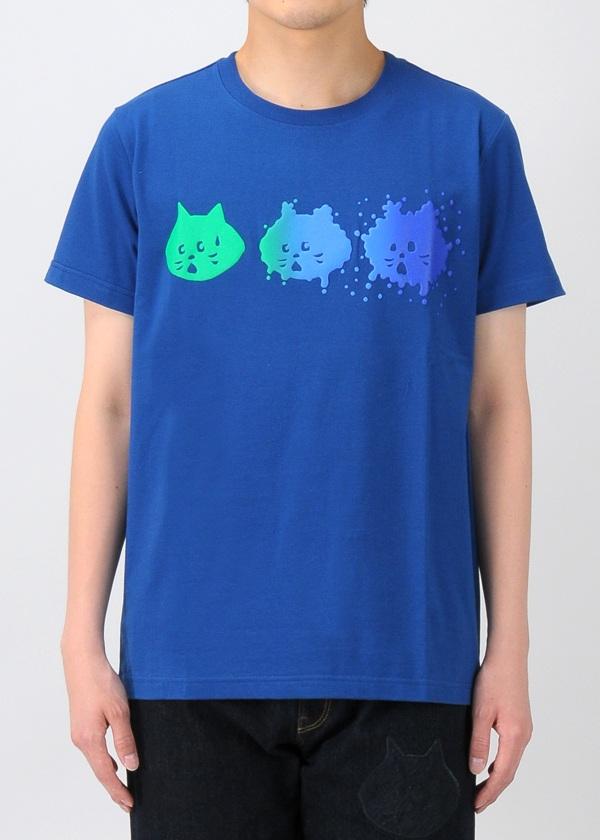 にゃー / キッズ スプラッシュにゃー T / Tシャツ