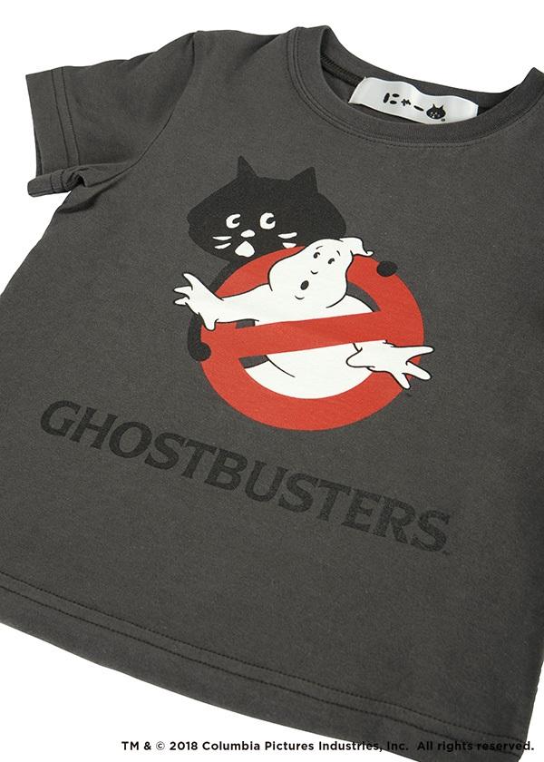 にゃー / キッズ にゃーと NO GHOST T / Tシャツ