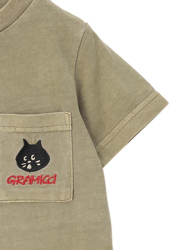 にゃー / GF キッズ にゃー×GRAMICCI ポケット T / カットソー