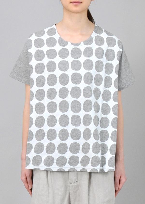 Plantation / S ドット型プリント-T / Tシャツ