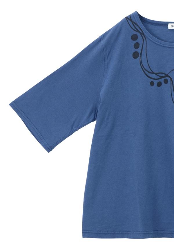 Plantation / ウエーブドットプリントT / Tシャツ