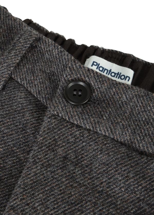 Plantation / フラノストレッチ / パンツ