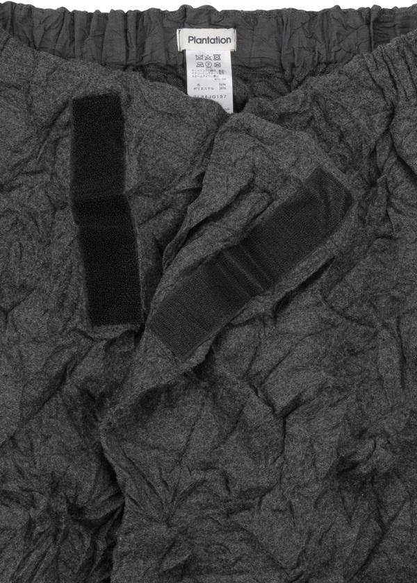 Plantation L-line / S クラッシュウール / スカート