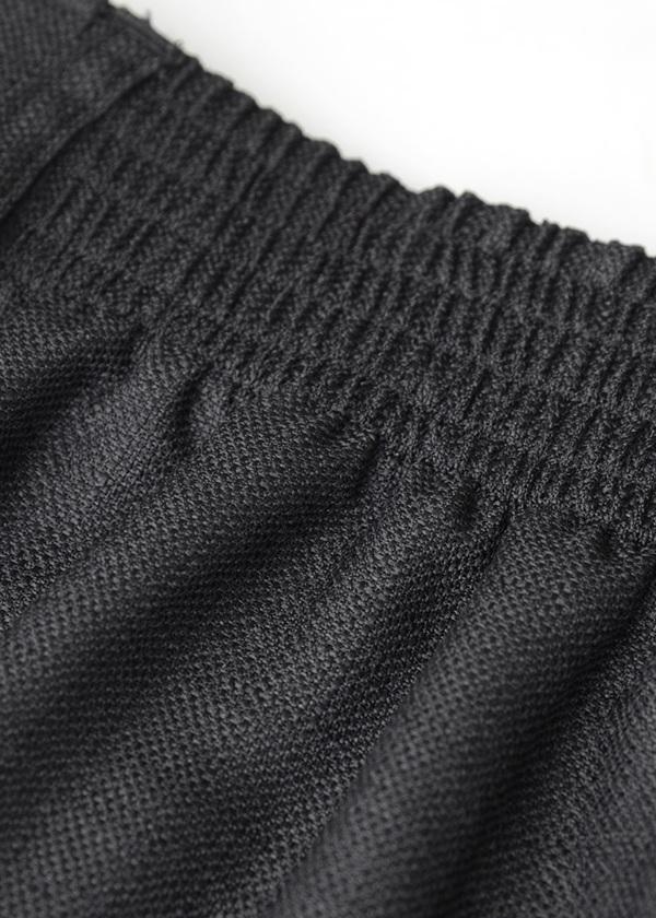 PE linen wide pants