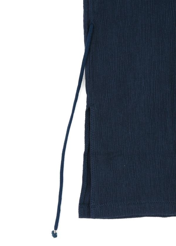 S Straiped crepe knit - BIG T