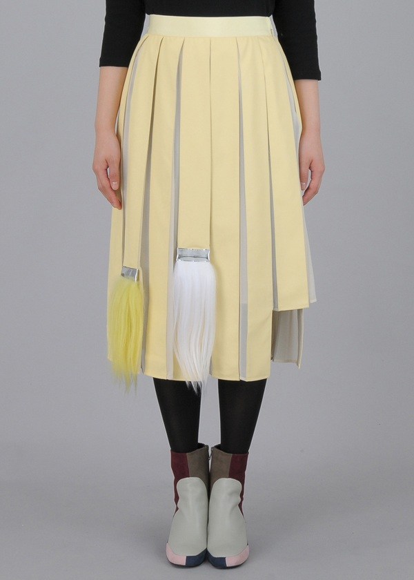 TSUMORI CHISATO / S ブラシプリーツ2 / スカート