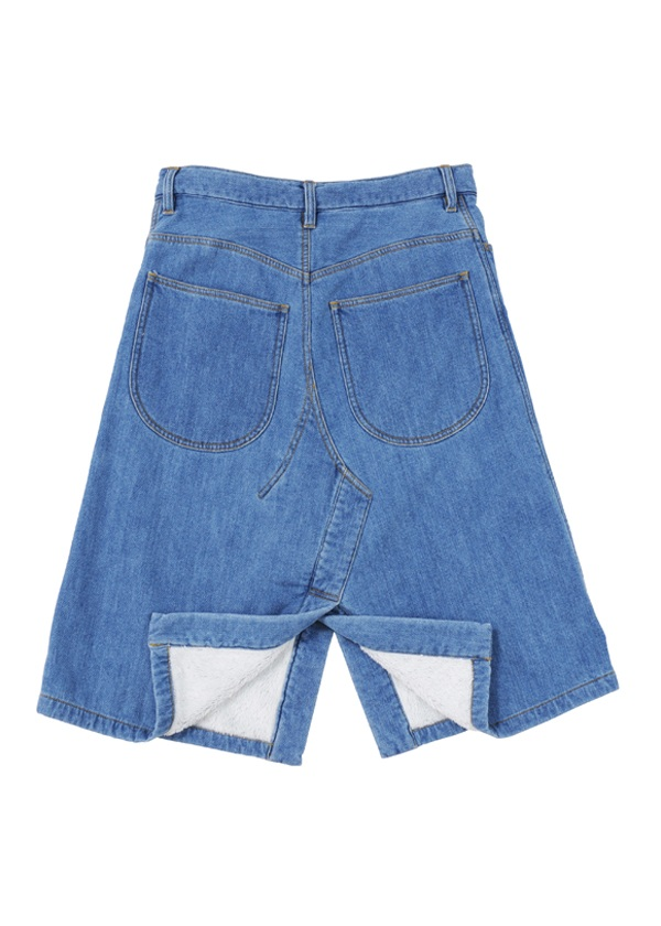 TSUMORI CHISATO / S ボアデニム / スカート