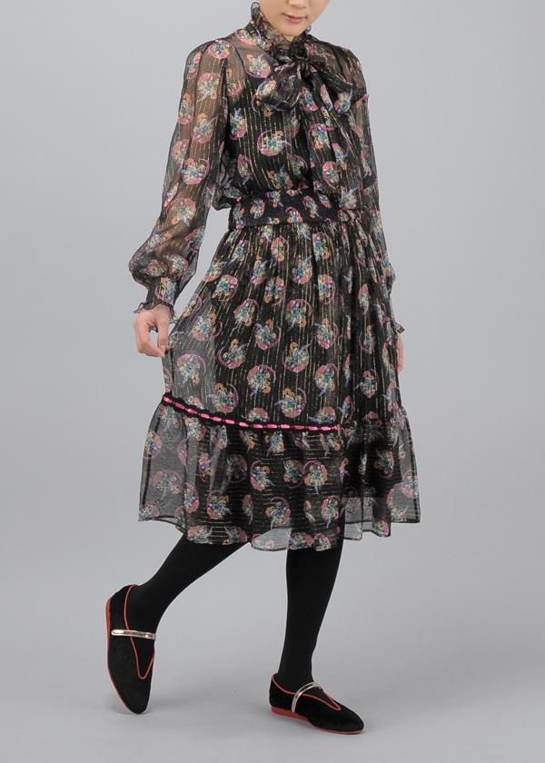TSUMORI CHISATO / コスモガールラメドッキングT / スカート