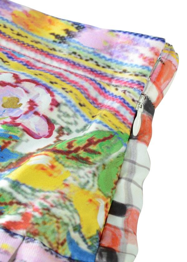 TSUMORI CHISATO / グアテマラバードストライプ / スカート