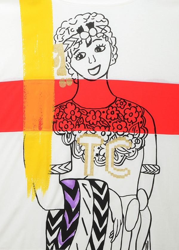 TSUMORI CHISATO / TCめがみ / Tシャツ