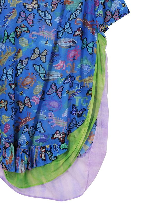 TSUMORI CHISATO / グアテマラピクセルT / Tシャツ