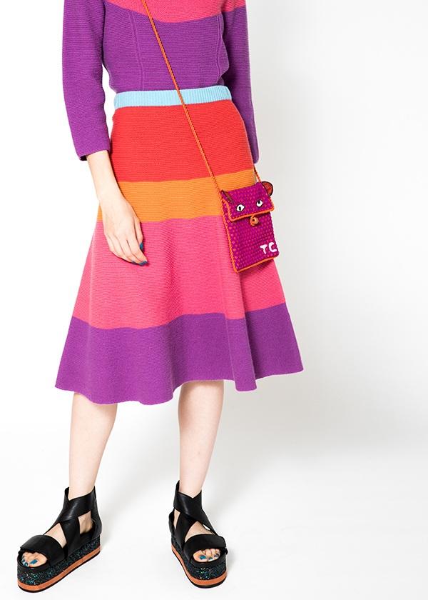 TSUMORI CHISATO / ホールガーメント / スカート