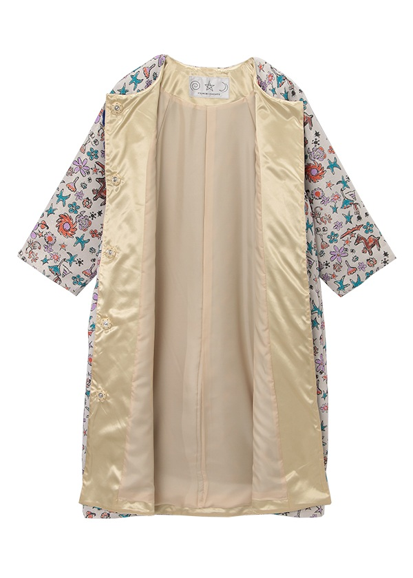 TSUMORI CHISATO / さばくの花ジャガード / コート