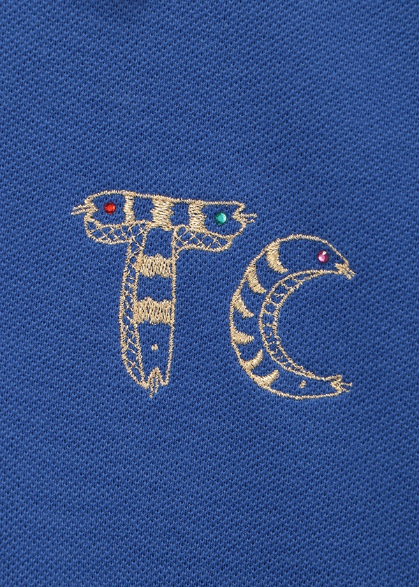 TSUMORI CHISATO / エンブレム刺繍T / ワンピース
