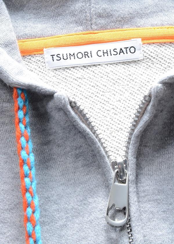 TSUMORI CHISATO / ボンボンパーカー / カーディガン