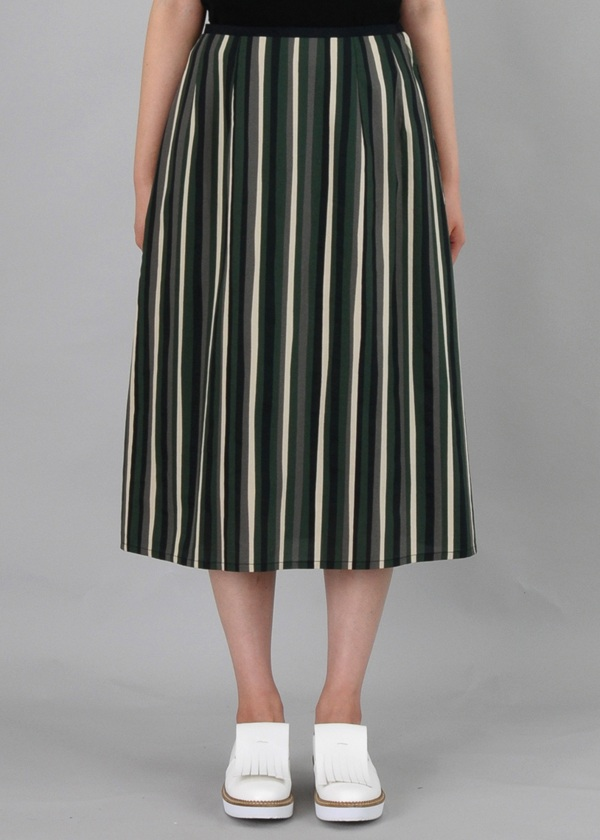 ZUCCa / ランダムストライプ / スカート