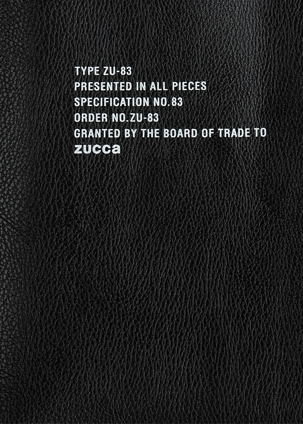 ZUCCa / S 18AW MOOK / 本