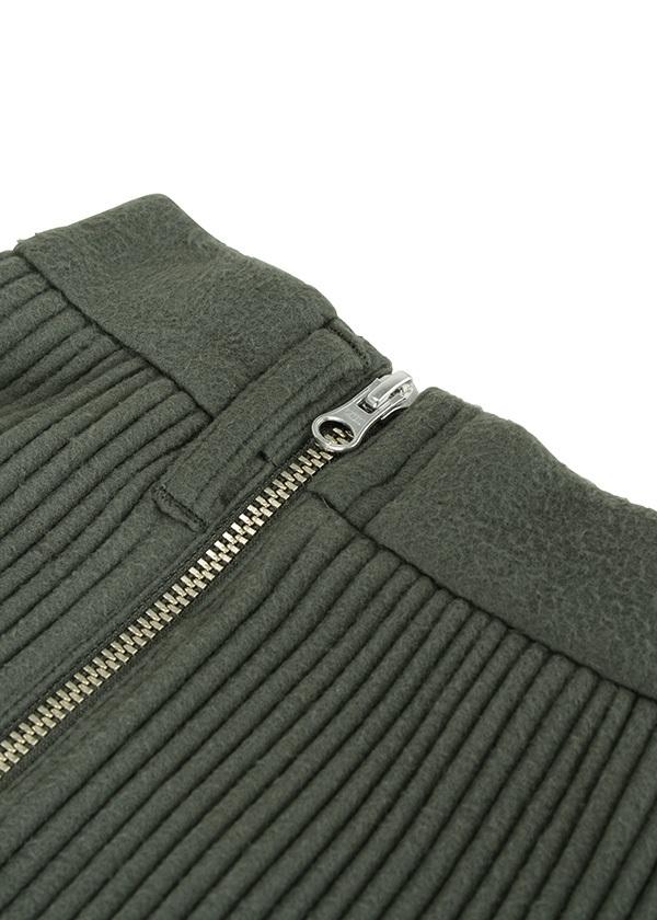 ZUCCa / S コードフリース / スカート