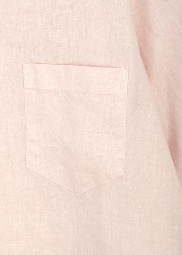 ZUCCa / (O) メンズ リネンシャツ / 半袖シャツ