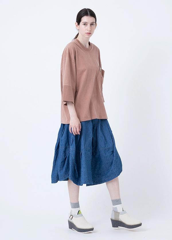 メルシーボークー、/ マッチデニム / デニムスカート