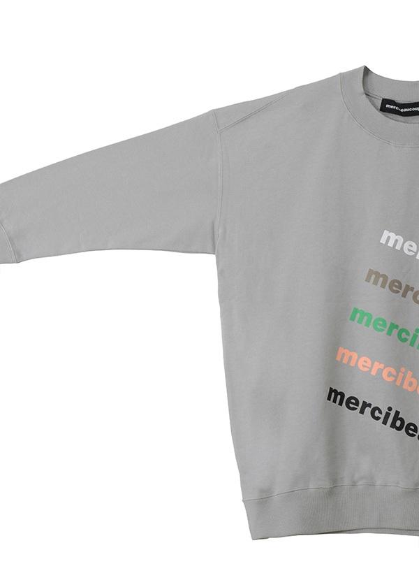 メルシーボークー、 / S 【WEB限定】 B:メルロゴ裏毛 / トレーナー