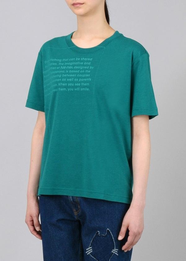 ネ・ネット / S ロゴ T / Tシャツ