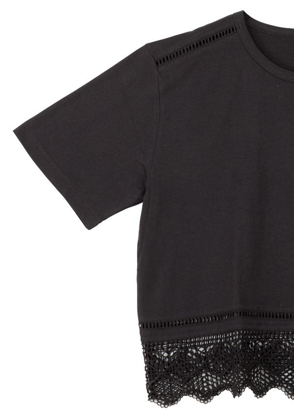 ネ・ネット / レーススカラ T / Tシャツ