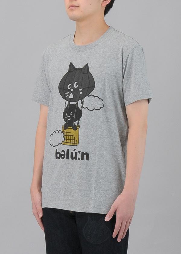 にゃー / S メンズ ばるーんにゃーT / Tシャツ