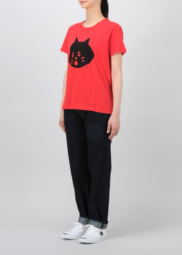 にゃー / S カラーにゃー T / Tシャツ