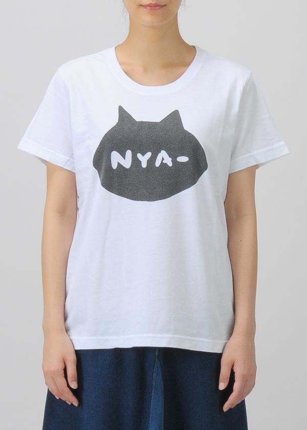 にゃー / S シルエットNYA - T / Tシャツ