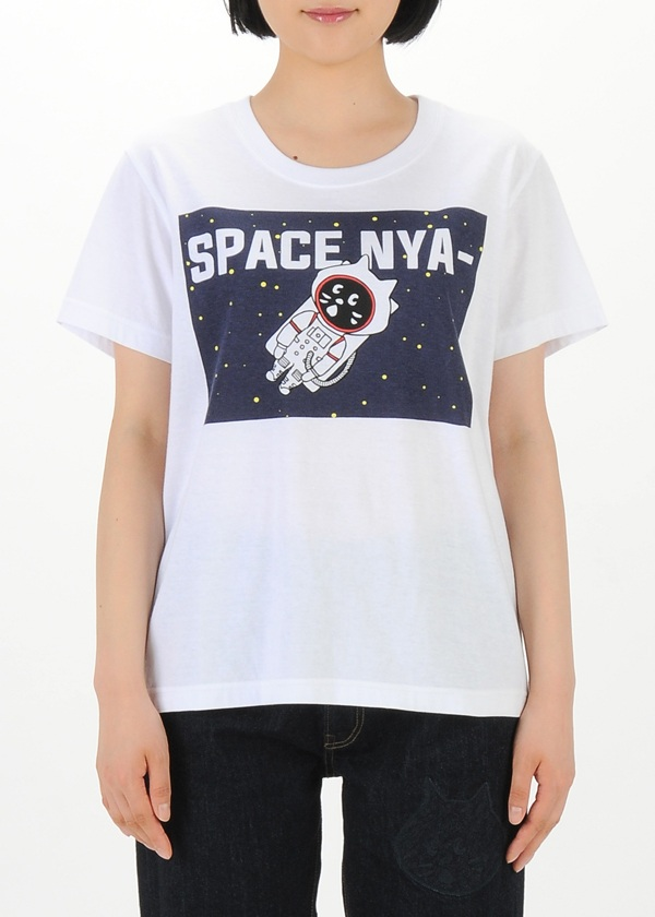 にゃー / スペースにゃー T / Tシャツ