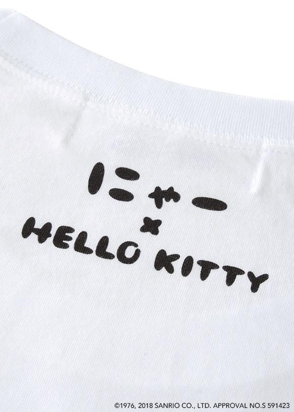 にゃー / S はこからにゃー×HELLO KITTY T / Tシャツ
