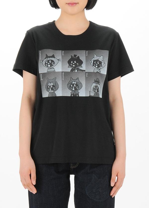 にゃー / S ホラースターにゃー T / Tシャツ