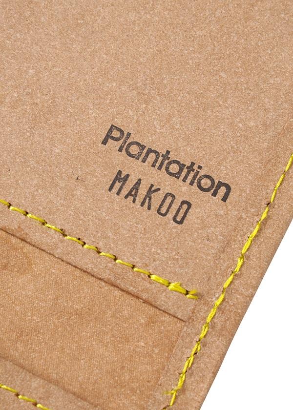 Plantation / リサイクルレザー / チケットキャッシュケース