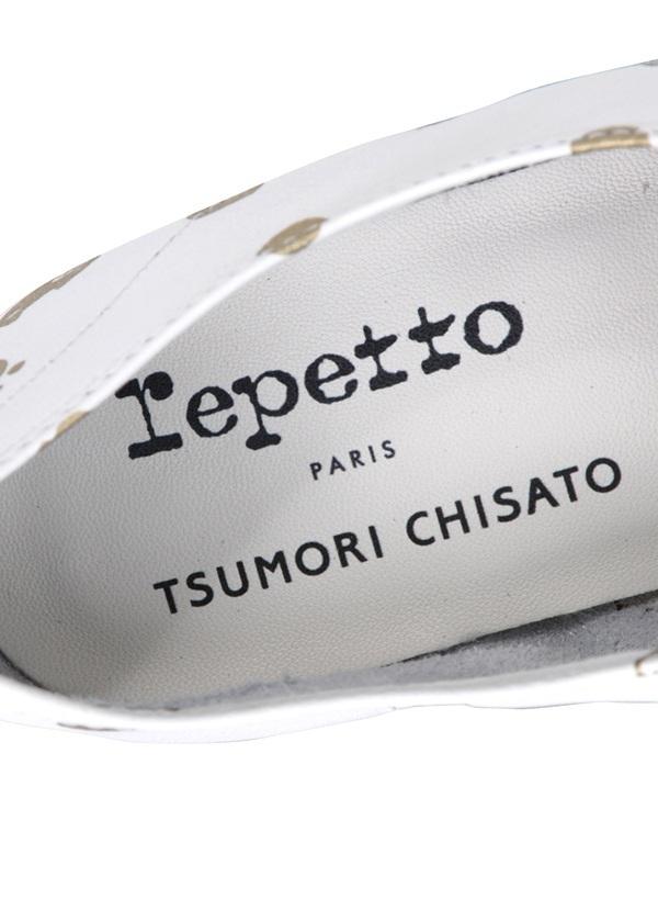 TSUMORI CHISATO × repetto / プチキャットドットシューズ / シューズ