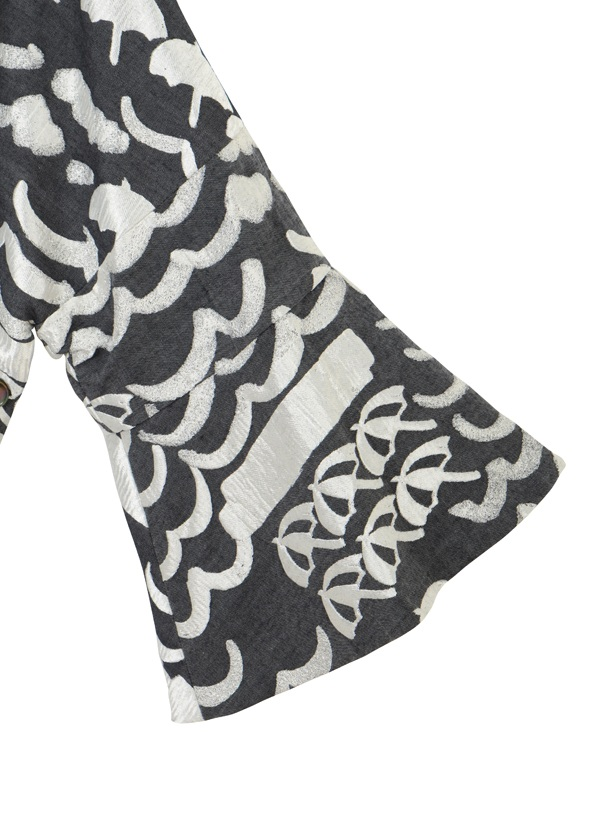 TSUMORI CHISATO / (O) ナミナミパラソルジャガード / 羽織り