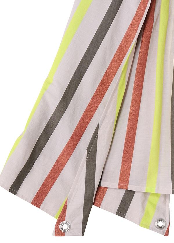 TSUMORI CHISATO / (O) マルチラメストライプ / スカート