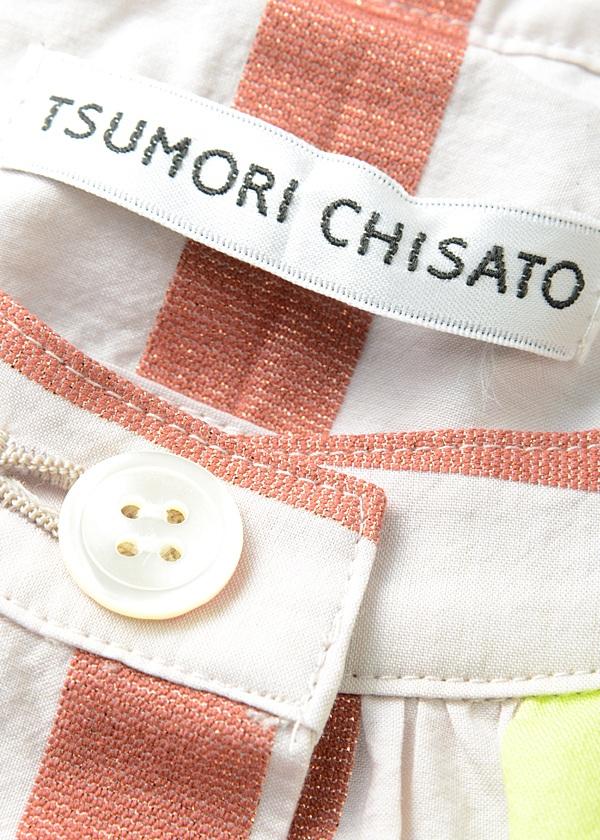 TSUMORI CHISATO / マルチラメストライプ / ワンピース