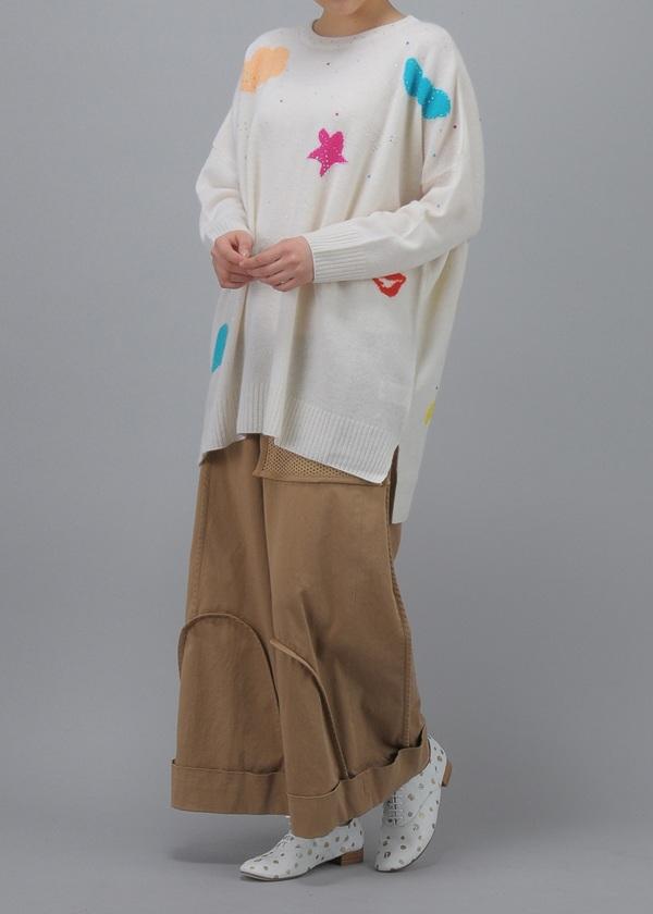 TSUMORI CHISATO / S ラクーン / ニット