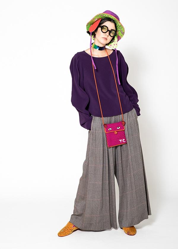 TSUMORI CHISATO / トリアセストレッチ / ブラウス