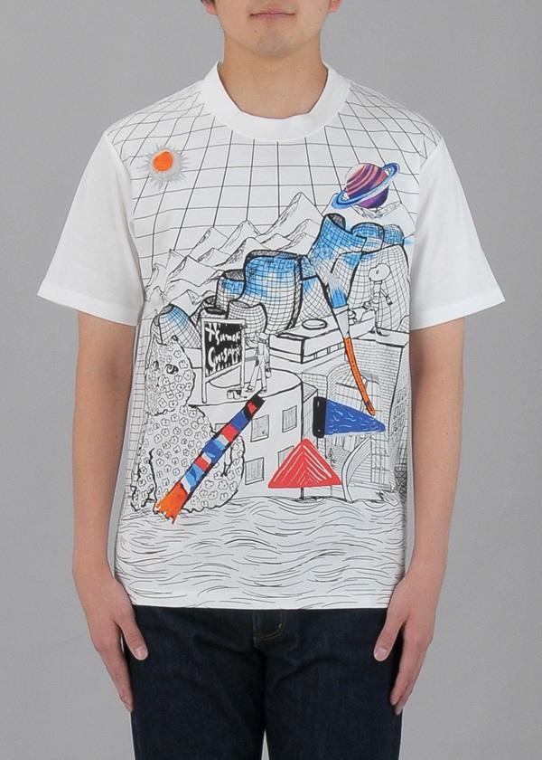 TSUMORI CHISATO / S メンズ ビルバオユニバースT / Tシャツ
