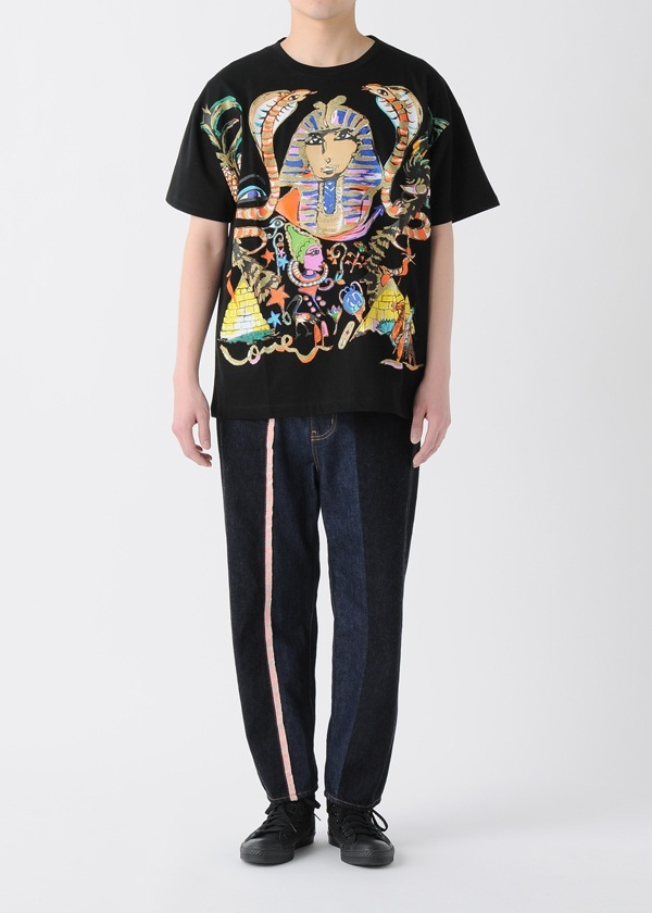 TSUMORI CHISATO / メンズ ツタンカーメンプリントT / Tシャツ