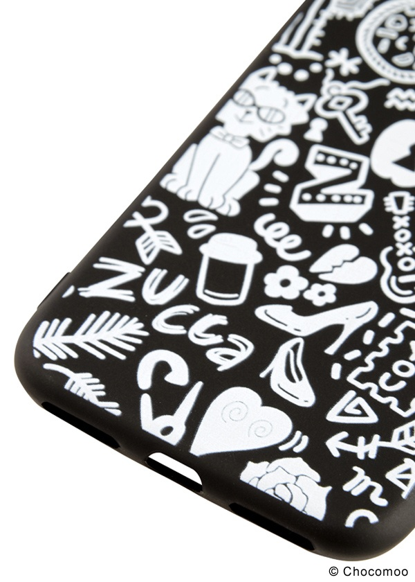 <先行予約> ZUCCa / (S)Chocomoo×ZUCCa ACC iphone ケース