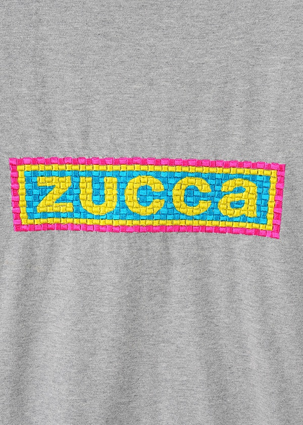 ZUCCa / メンズ エンブロイダリーロゴTシャツ / Tシャツ