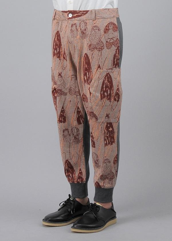 メルシーボークー、 / S メンズ ほのぼのジャガード / パンツ