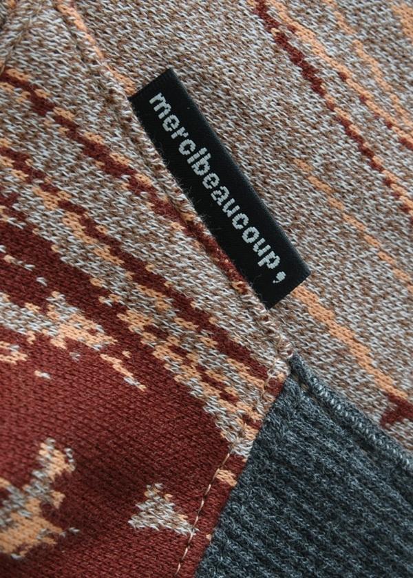 メルシーボークー、 / ほのぼのジャガード / Tシャツ