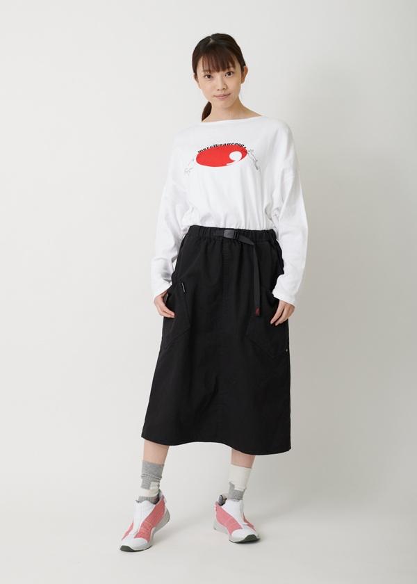メルシーボークー、 / 【Web限定】 ひらっとGRAMICCI / スカート